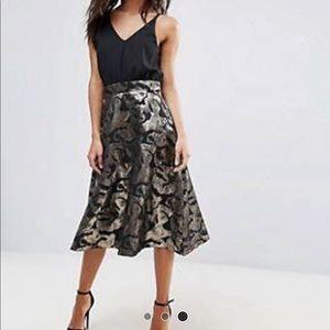 AX Paris Jaquard Midi Aline Dress